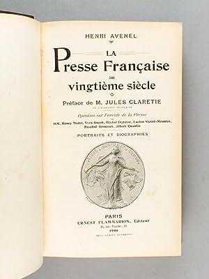 La Presse Française au Vingtième Siècle. [ Livre dédicacé par l&...