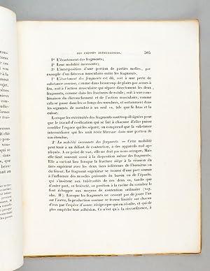 Mémoire sur quelques points de l'Histoire des Fausses Articulations et sur un proc&...