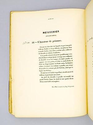 Catalogue de Tableaux anciens et modernes, aquarelles et dessins et objets d'art formant la c&...