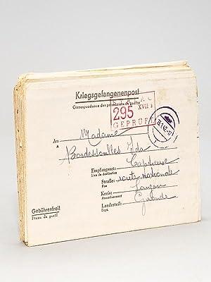 Correspondance datant de la seconde guerre, d'un prisonnier français à sa ...