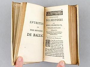 Les Entretiens de feu Monsieur de Balzac: BALZAC, Guez de