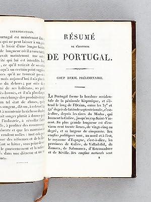 Résumé de l'Histoire de Portugal depuis les premiers temps de la monarchie jusqu...