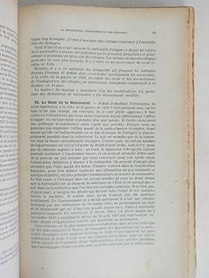 Cours de Droit International Privé.: NIBOYET, J.-P.