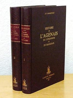 Histoire de l'Agenais, du Condomois et du Bazadais (2 Tomes - Complet): SAMAZEUILH, J.-F.