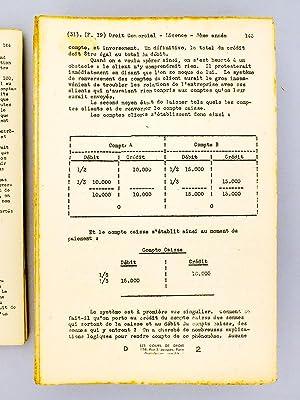 Cours de Droit Commercial. Licence 3e année 1946-1947 Paris V ( complet - en fascicules ): ...