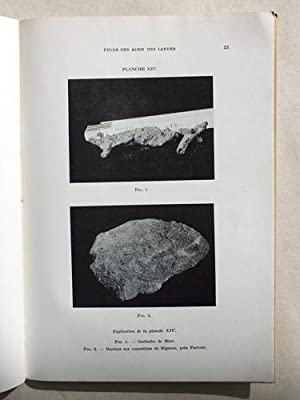 Etude des Alios des Landes.: CAILLERE, Mlle S. ; HENIN, S.