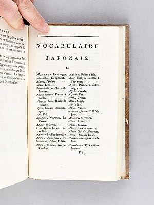 Voyage en Afrique et en Asie, principalement au Japon, pendant les années 1770-1779. Servant...