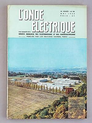 L'Onde électrique - Revue Mensuelle de la Société française des &...