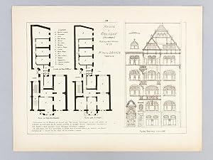 Monographies de Bâtiments Modernes. Maison à Cologne 23 Riehler Strasse Mr. Fritz ...