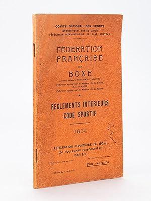 Fédération Française de Boxe - Règlements intérieurs , Code ...