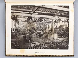 Les Usines du Pied-Selle en 1900 (Fumay - Ardennes). Notice. [ Edition originale dédicac&...