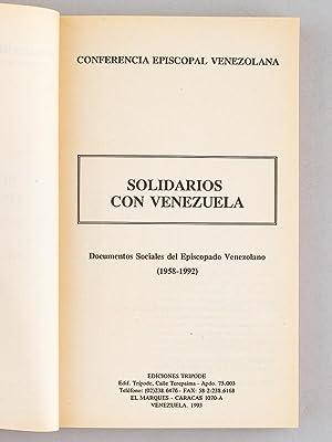 Solidarios con Venezuela: S.P.E.V ; Conferencia Episcopal Venezolana