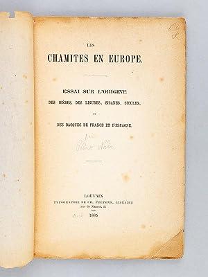 Les Chamites en Europe: essai sur l'origine des Ibères, des Ligures, Sicanes, Sicules ...