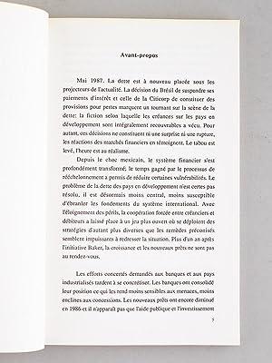 La Dette, Catastrophe ou mutation. Actes du Colloque organisé le 27 février 1986 par ...