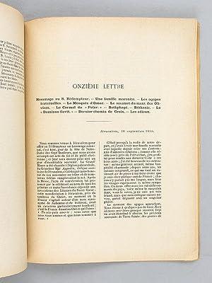 Lettres d'Orient.: CHAMOUTON, E.