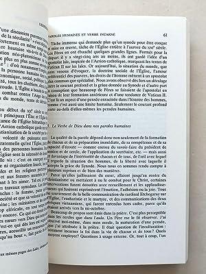 L'expérience synodale. L'exemple de 1987.: CHANTRAINE, Georges