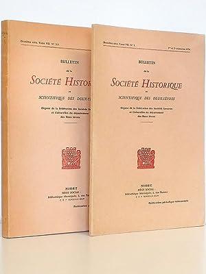Bulletin de la Société Historique et Scientifique: Collectif ; Société