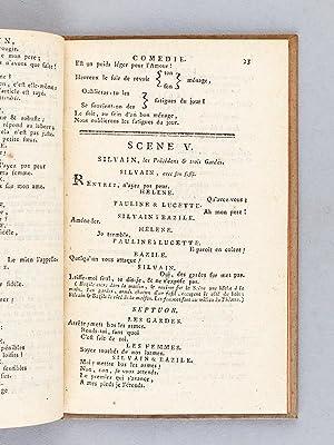 Silvain, Comédie en un acte, mélée d'Ariettes, Par M. Marmontel, de l&#...