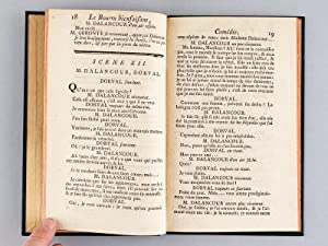 Le Bourru bienfaisant, comédie en trois actes et en prose de M. Goldoni ; Dédi&eacute...