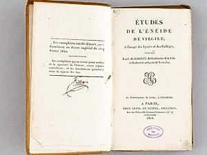 Etudes de l'Enéide de Virgile, à l'usage des Lycées et des Coll&...