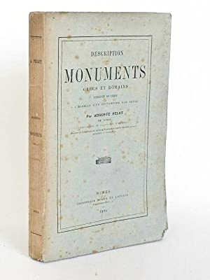 Description des Monuments grecs et romains exécutés en liège à l'&...