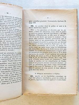 Consultations de Droit Canonique [ 2 vol. ] : Première série, les Sacrements ; Deuxi&...