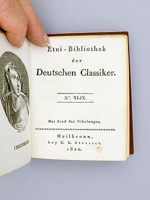 Etui-Bibliothek der Deutschen Classiker. N° 49 : Das Lied der Nibelungen im Auszuge.: Collectif