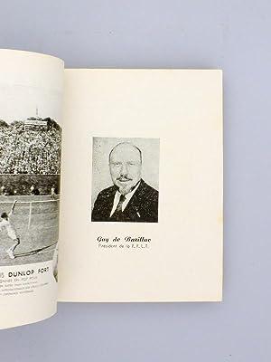 """Annuaire Almanach """" SMASH """" 1957 [ Lawn-Tennis français ]: MATHIEU, Simonne ; ..."""