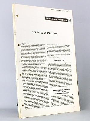 """L'installateur d'antennes - """" Votre Carrière Radio et T.V. """" , Magazine ..."""
