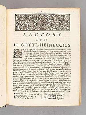 Arnoldi Vinnii JC. in Quatuor Libros Institutionum Imperialium Commentarius Academicus et Forensis,...