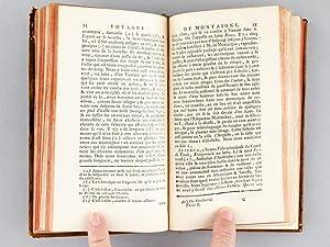 Journal du Voyage de Michel de Montaigne en Italie, par la Suisse & l'Allemagne en 1580 &...