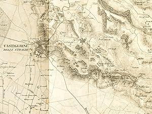 Champs de Bataille de Calcinato, 19 Avril, et de Castiglione, 9 Septembre 1706 [ tiré de l&#...