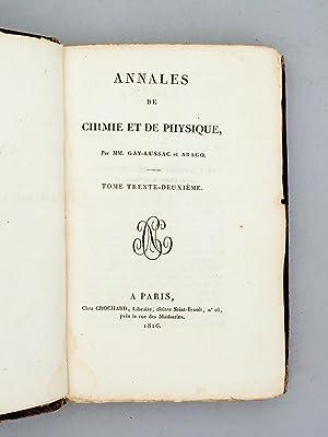 Annales de Chimie et de Physique. 1826 - Volume 2 : Tome Trente-Deuxième [ Tome 32 - tome ...