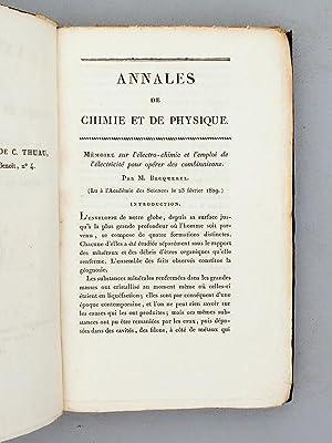 Annales de Chimie et de Physique. 1829 - Volume 2 : Tome Quarante-Unième [ Tome 41 - Tome ...