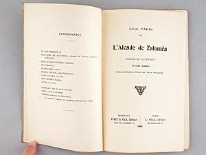 L'Alcade de Zalaméa. Comédia de Caldéron en trois journées. ...
