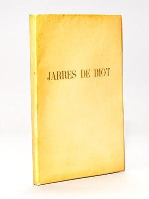 Jarres de Biot. Deux Bois de Tavy: MAURRAS, Charles ;