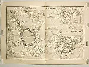 Siège de Douai par l'Armée Française sous les ordres du Maréchal ...