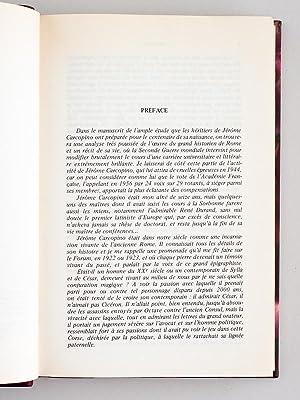 Jérôme Carcopino. Un Historien au service de l'Humanisme.: GRIMAL, Pierre ; ...