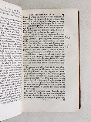 Les Deux premiers Livres des Rois, traduits en François, avec une explication du sens ...