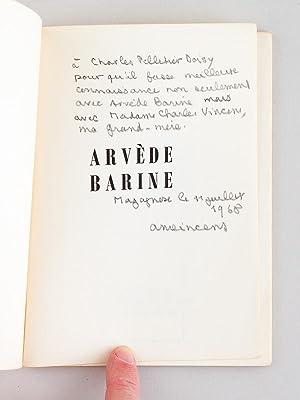 Pour qu'on lise Arvède Barine.: GOUT, Raoul