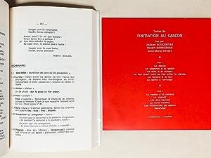 Initiation au Gascon [ Avec le disque vinyl : 12 textes lus ]: DARRIGRAND, Robert ; [ Jacques ...