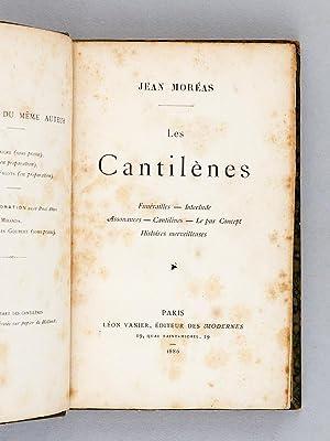Les Cantilènes. Funérailles - Interlude - Assonances - Cantilènes - Le pur ...