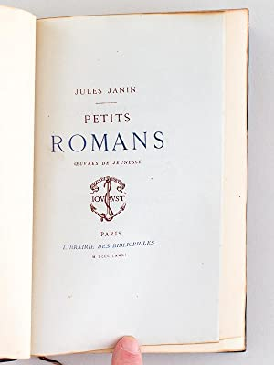 Petits Romans.: JANIN, Jules