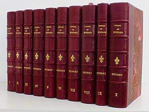 Oeuvres complètes ( 10 premiers tomes - Tomes I à X reliés : Oeuvres de 1550 &...