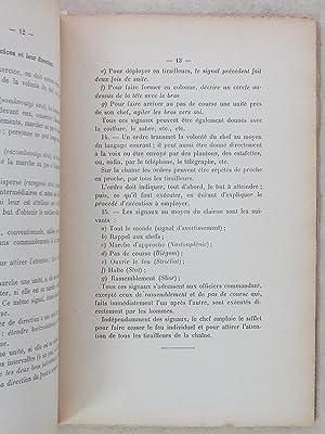 Projet de Règlement de Manoeuvres de l'Infanterie Russe ( Extrait de la Revue d'...