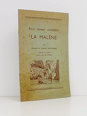 Pour mieux connaître la Malène [ exemplaire dédicacé ]: Chanoine ...