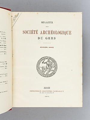 Bulletin de la Société Archéologique du Gers : Années 1915 à ...