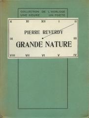Grande nature: REVERDY (Pierre)