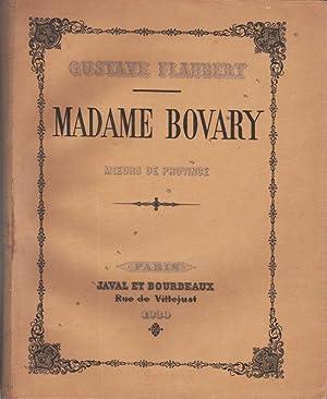 Madame Bovary.: FLAUBERT (Gustave).