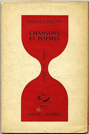 Chansons et poèmes.: BRECHT (Berthold).
